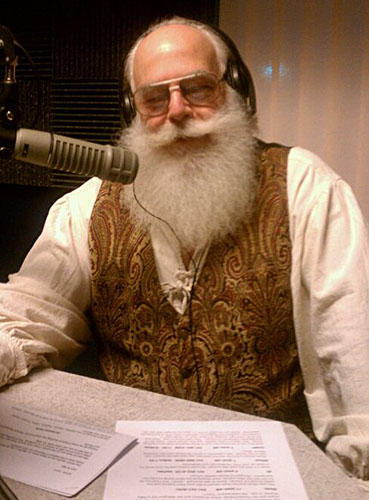 Santa Ed on the Radio