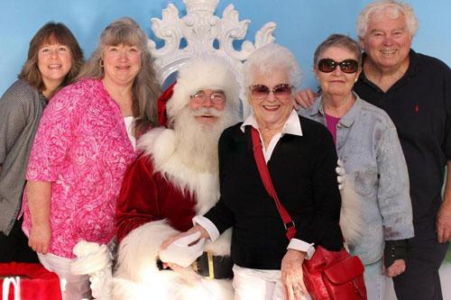 Santa and Family