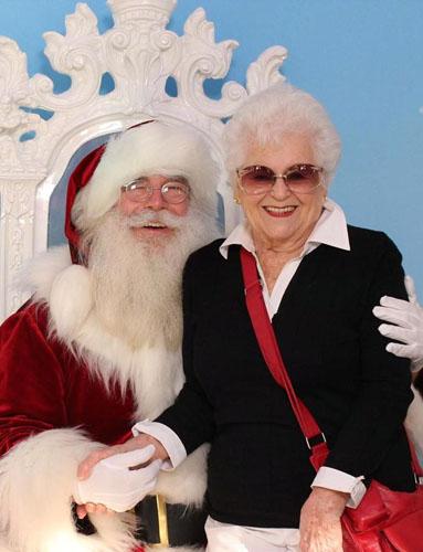 Santa and Grandma