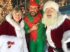Mrs Claus and Santa at Manhattan Beach