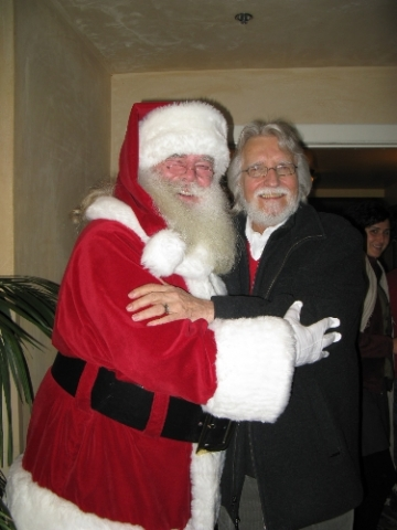 Santa with Neale Donald Walsch