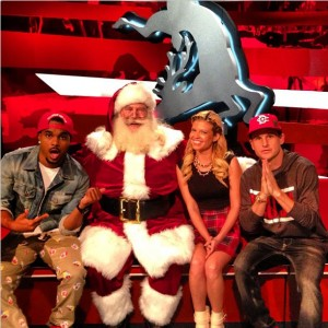 Santa and Ridiculousness Team 10-13
