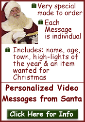Personalized Video Messages from Santa