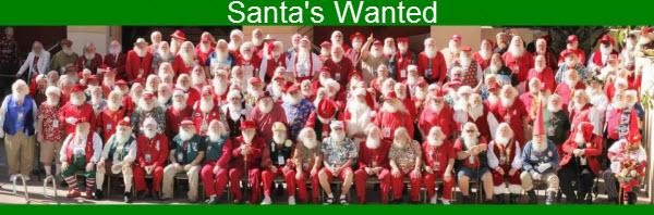 Santas Wanted