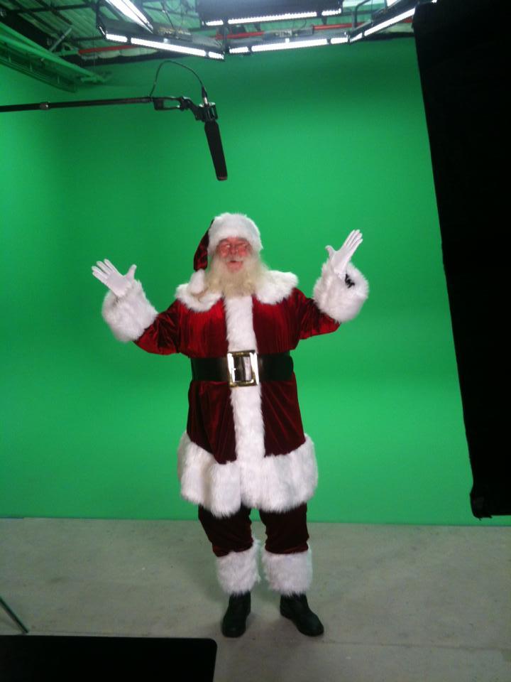 Santa Greenscreen shoot