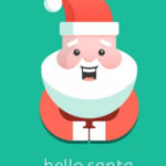 Hello Santa Logo Small