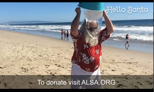 ALS Santa Ice Bucket