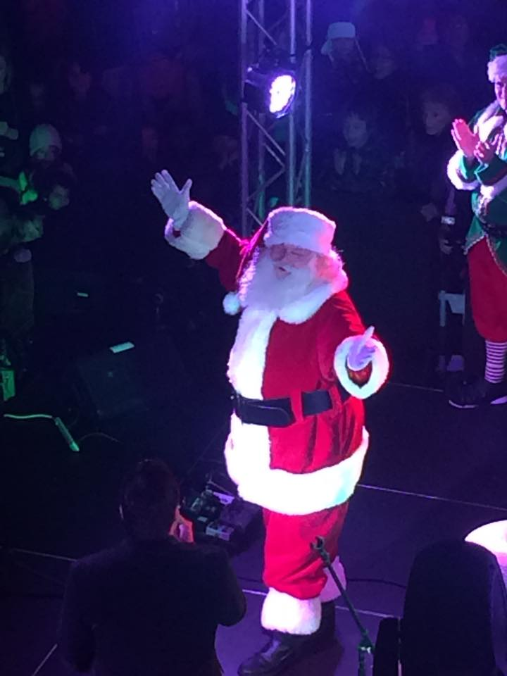 Santa Monica Santa Claus 2014