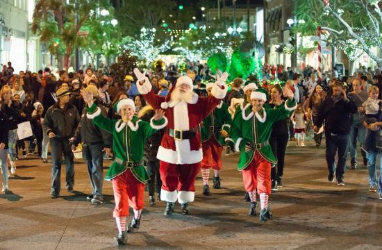 Santa Monica Santa Claus
