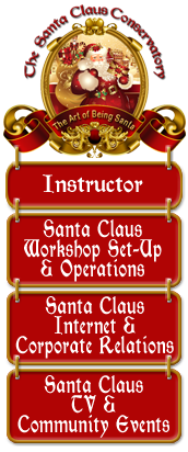 Santa Claus Conservatory Instructor