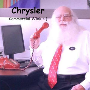 Chrysler Santa Claus - Hollywood Santa Claus actor
