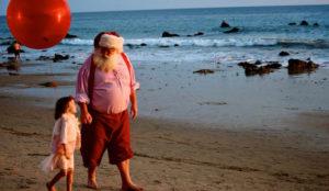 Santa Claus in Malibu