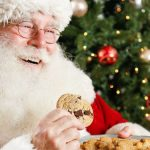 Santa Claus Los Angeles eating cookies - 500