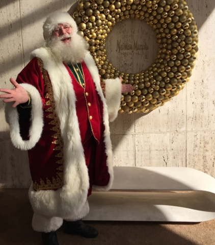 Santa Claus at Neiman Marcus Beverly Hills